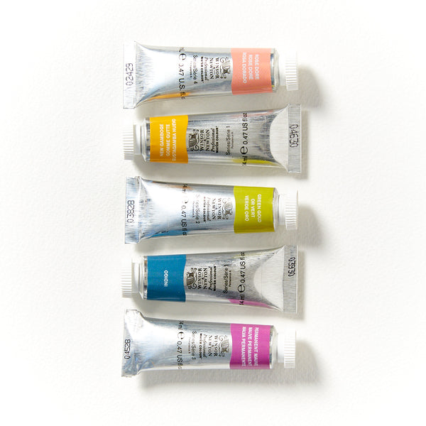 Winsor & Newton Professional Watercolour 14mL - Series 1 & 2