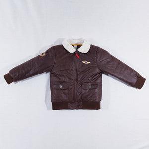 Vtg Aviator Jacket 3-4yrs
