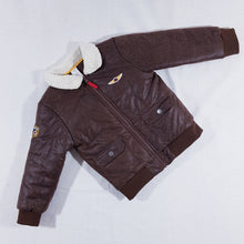 Load image into Gallery viewer, Vtg Aviator Jacket 3-4yrs