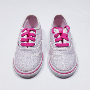 Vtg Vans Trainers Glitter 6/23 Toddler