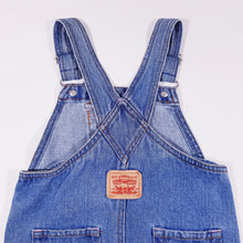 Load image into Gallery viewer, Vtg Levis Washed Dungaree Dress 4-5yrs