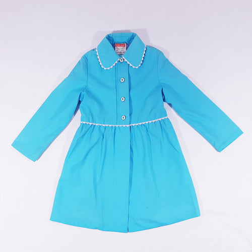 Vtg Daisy Showerproof Raincoat 7-8yrs