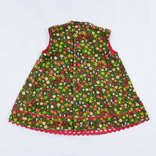 Load image into Gallery viewer, Vtg Needlecord Floral Top 2-3yrs