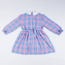 Load image into Gallery viewer, Vtg Tartan Checked Tea Dress 2-3yrs
