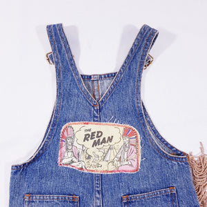Vtg Dungarees Cowboys and Indians Jeans 4-5yrs