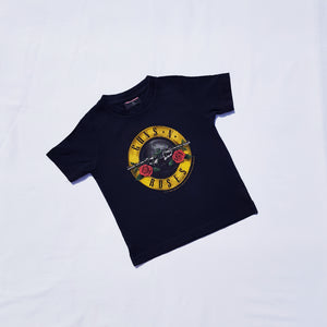 Vtg Guns & Roses T Shirt 2-3yrs
