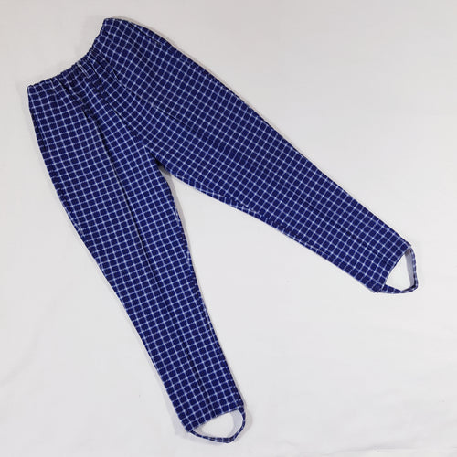 Vtg Plaid Jodphur Trousers 12-14yrs