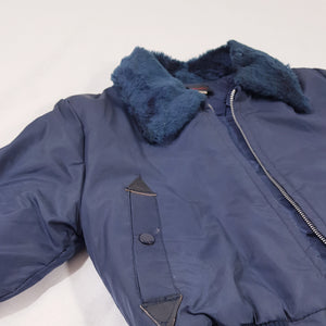 Vtg Airforce Bomber Quilted Jacket 6-7 yrs