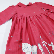 Load image into Gallery viewer, Vtg Poppy Autumn Dress 2-3yrs