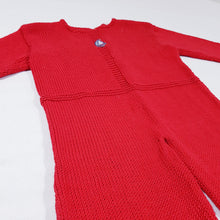 Load image into Gallery viewer, Vtg Handmade Knitted Baby Suit 1-2 yrs