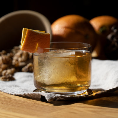 SIMPLE COCKTAIL RECIPE ~ 1pt Barrel Tequila Old-Fashioned
