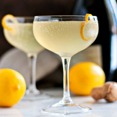 SIMPLE COCKTAIL RECIPE ~ 1pt French 75
