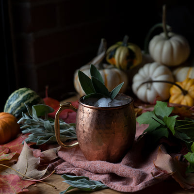 SIMPLE COCKTAIL RECIPE ~ 1pt Pumpkin Spice Mule