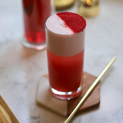 SIMPLE COCKTAIL RECIPE ~ 1pt Rossa Fizz (@TheWeekendMixologist)