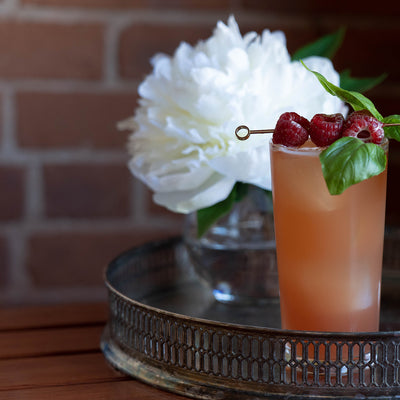 SIMPLE COCKTAIL RECIPE ~ 1pt Rum N' Roses