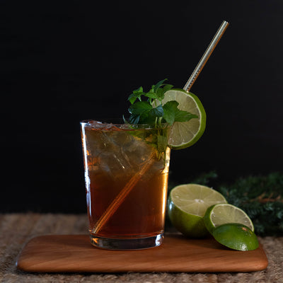 SIMPLE COCKTAIL RECIPE ~ 1pt Spiced Vanilla Mule