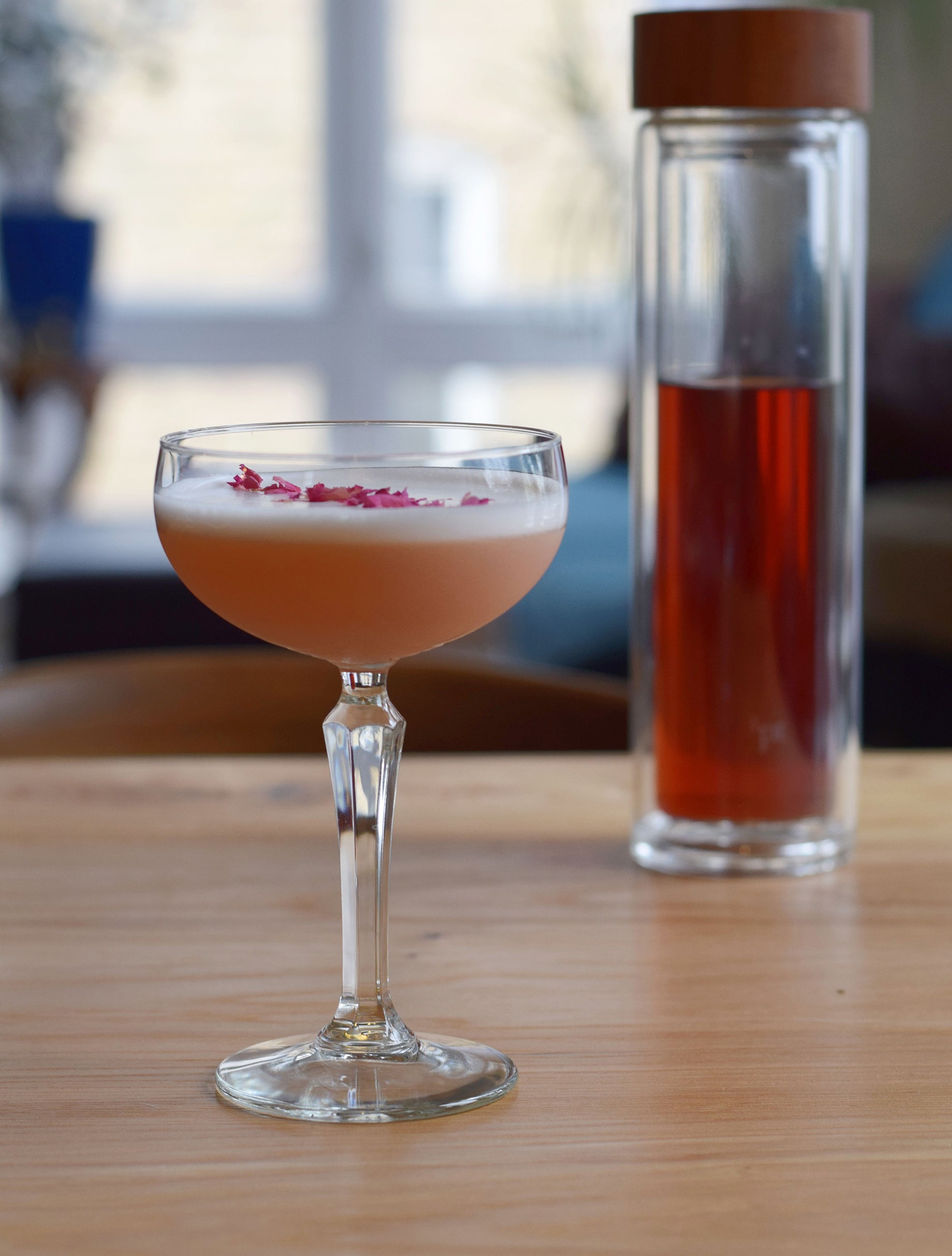 Simple Cocktail Recipe 1pt The Dreamy Rose Valcohol