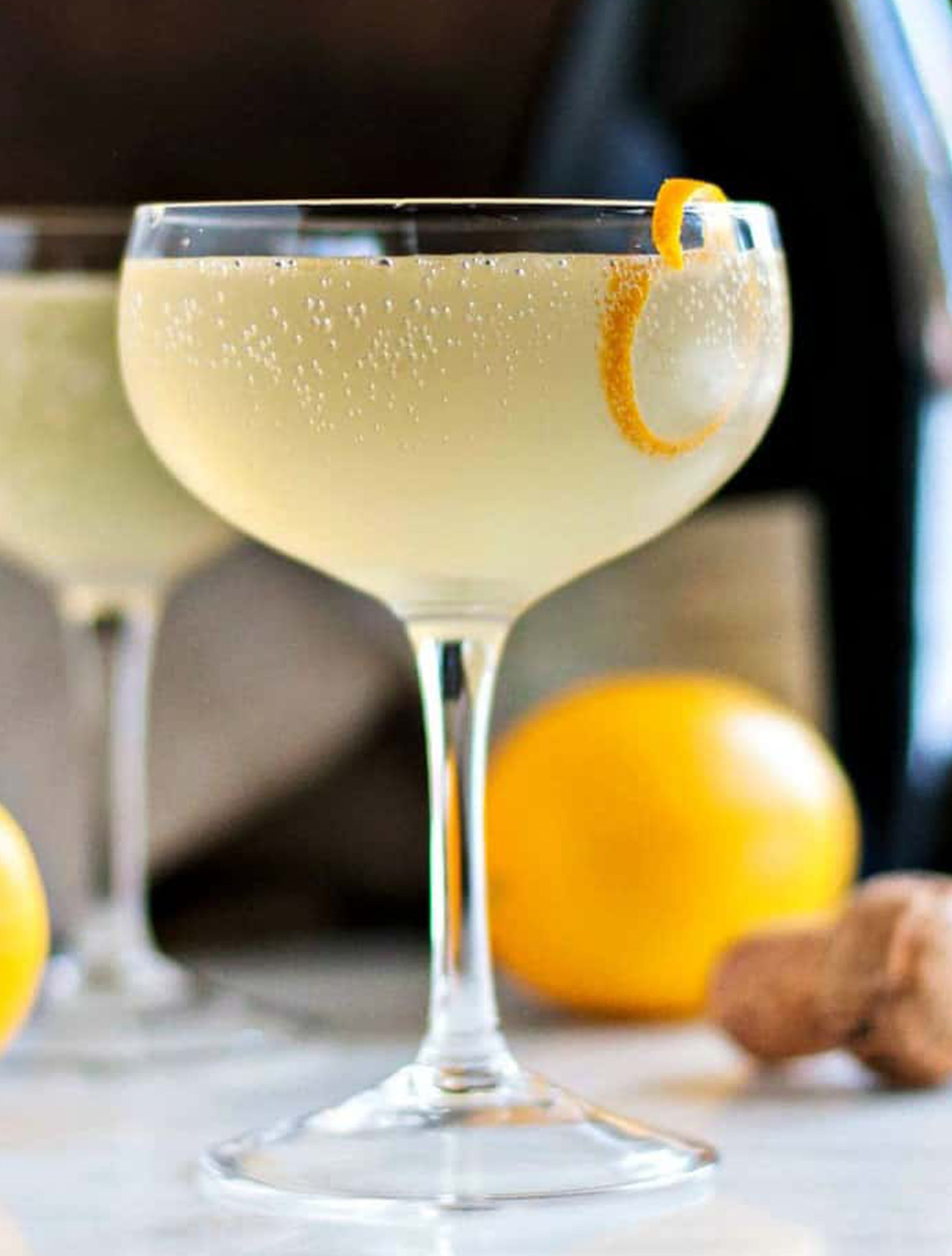 Simple Cocktail Recipe 1pt French 75