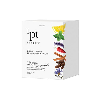 1pt Variety Pack Box Cover | Teroforma