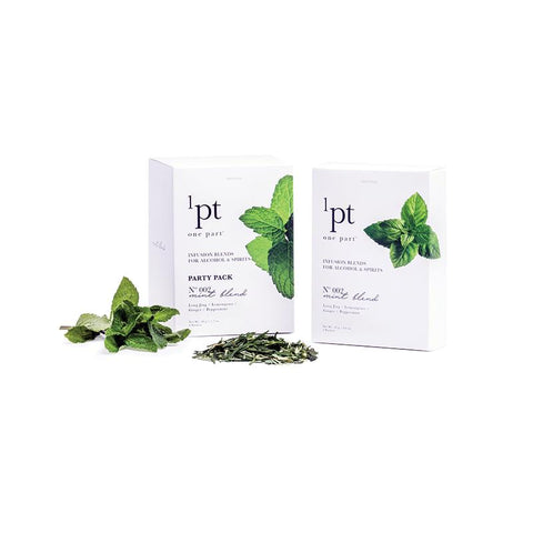 1pt Mint Blend Ingredients