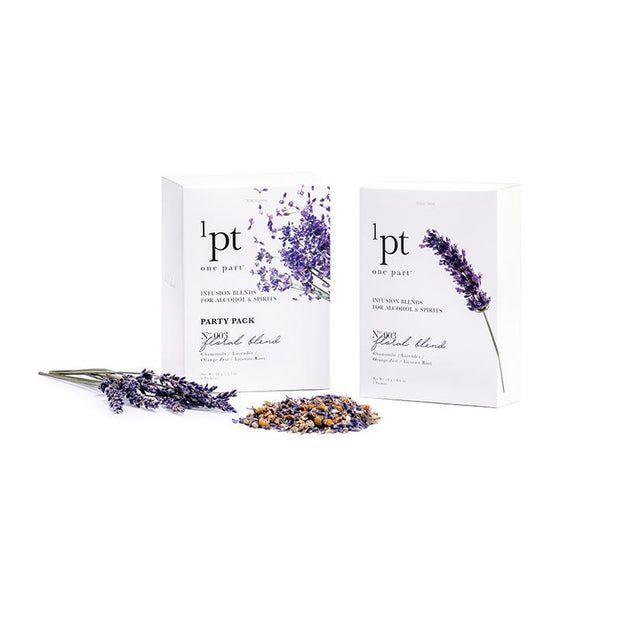 1pt Floral Blend Ingredients