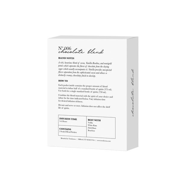 1pt Chocolate Blend Directions | Teroforma