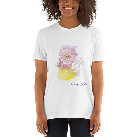 MZ Watercolor Front Print T-shirt Unisex