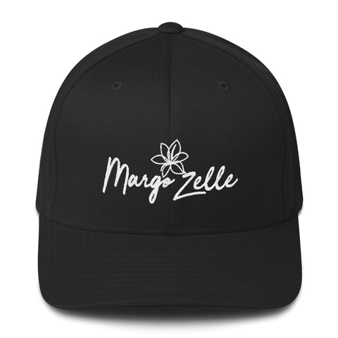 Margo Zelle Structured Twill Logo Cap