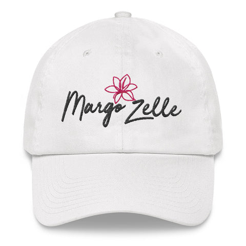 Margo Zelle White Logo Hat