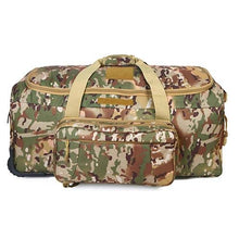 Load image into Gallery viewer, Wheeled Deployment Trolley Duffel Bag