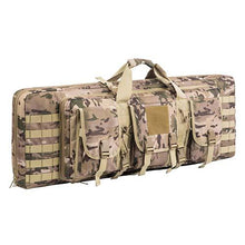 Load image into Gallery viewer, Outdoor Deluxe Double Rifle Gun Bag
