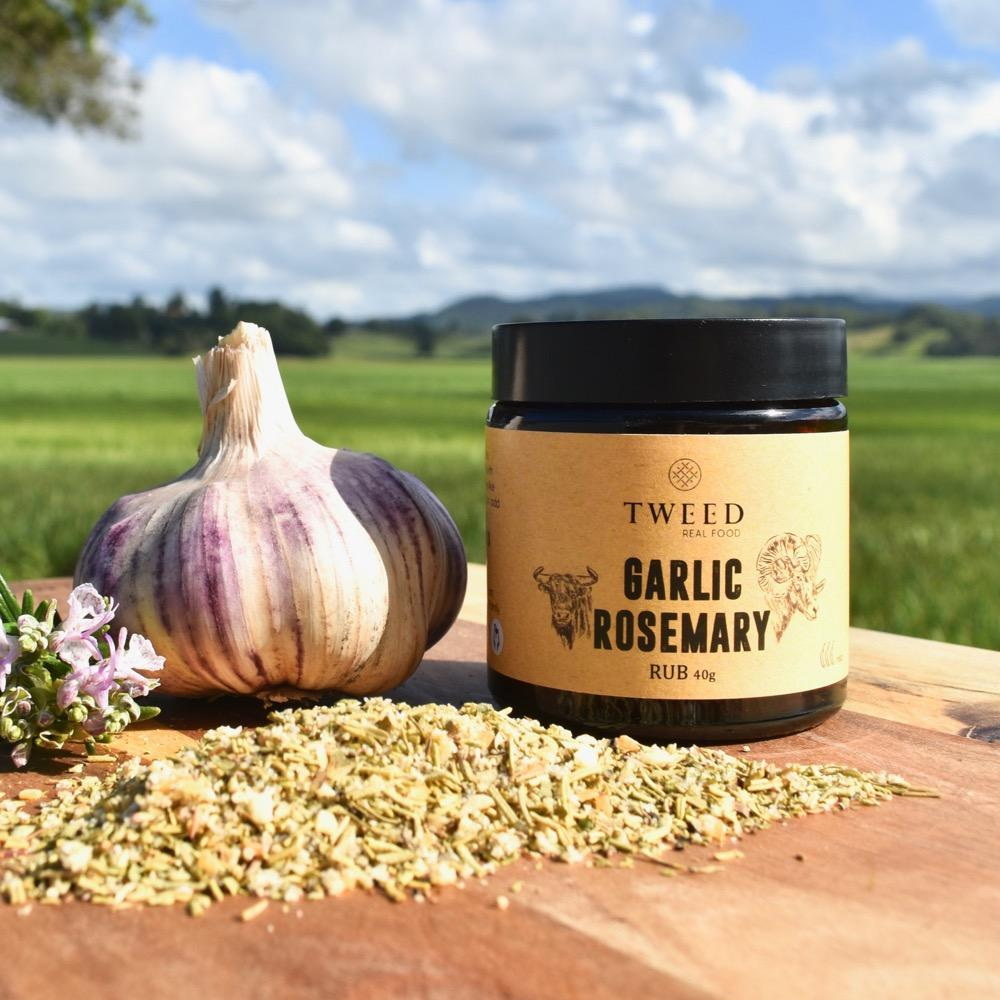 Garlic Rosemary Rub 40g