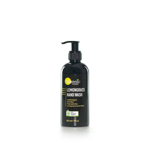Organic Clean Lemongrass Hand Wash 250ml