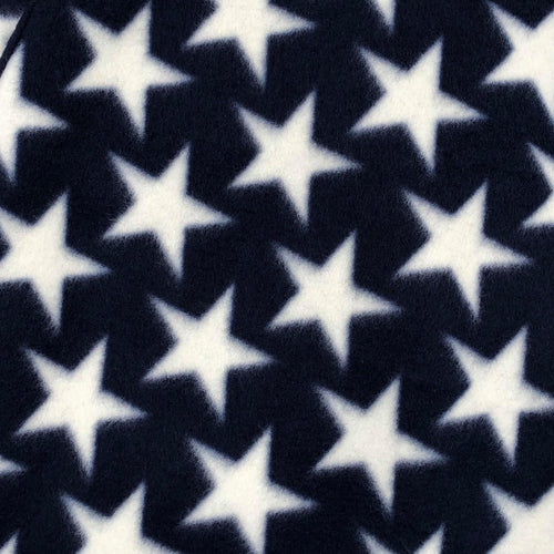 Pet Sling: White Stars on Navy