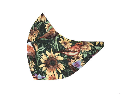Garden Birds Face Mask