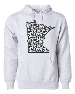 MN Dogs Unisex Hoodie