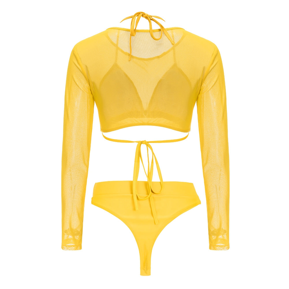 To Sexy Mesh Swim Set - Swim - Labeled- Couture - Labeled- Couture
