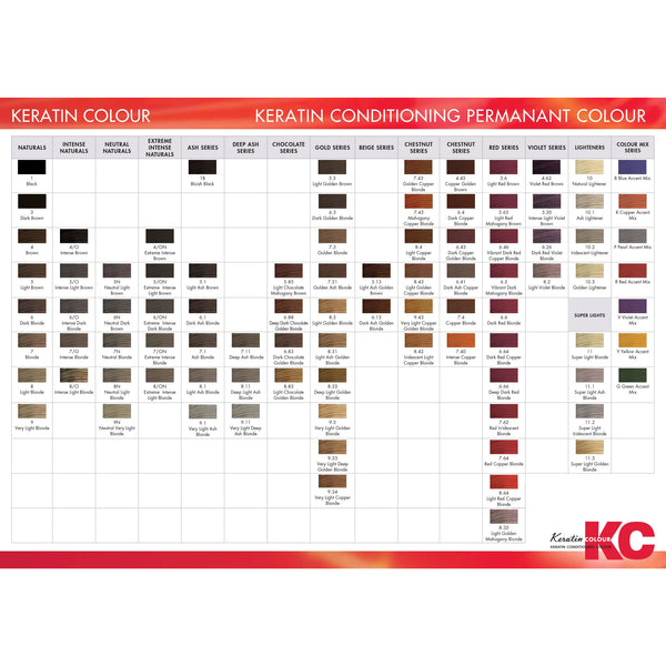 KC Permanent Colour 5.85 Light Chocolate Mahogany Brown, Chocolate Series - WAHairSuppliers