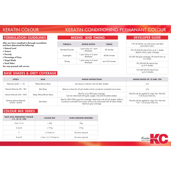 KC Permanent Colour 10 Natural Lightener, Lighteners - WAHairSuppliers
