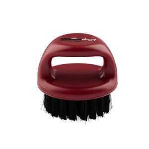 BaBylissPRO BARBERology Fade Knuckle Brush Red - WAHairSuppliers