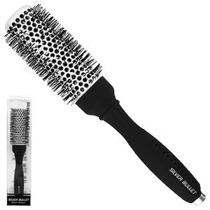Silver Bullet Black Velvet Hot Tube Hair Brush Medium - WAHairSuppliers