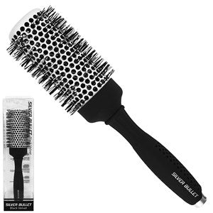Silver Bullet Black Velvet Hot Tube Hair Brush Large - WAHairSuppliers