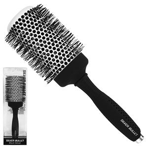 Silver Bullet Black Velvet Hot Tube Hair Brush Extra Large - WAHairSuppliers