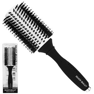 Silver Bullet Black Velvet Round Hair Brush Extra Large - WAHairSuppliers