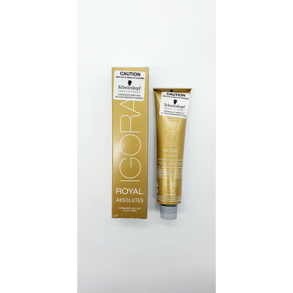 Schwarzkopf Igora Royal Absolutes 7-50 Med Blonde Gold Nat 60ml - WAHairSuppliers