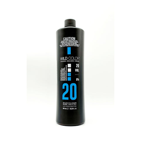 Wildcolor Oxidizing Emulsion Cream 6%/20vol. 995ml