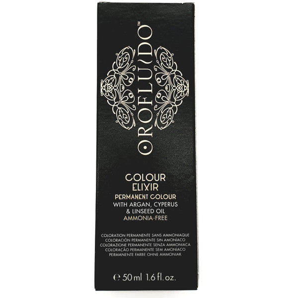 Orofluido 5.24 Light Coppery Pearl Brown 50ml (ammonia free/permanent colour) - WAHairSuppliers