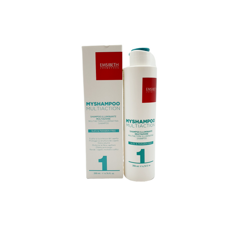 Emsibeth Myshampoo Multiaction 1 Multiaction Illuminating Shampoo - WAHairSuppliers