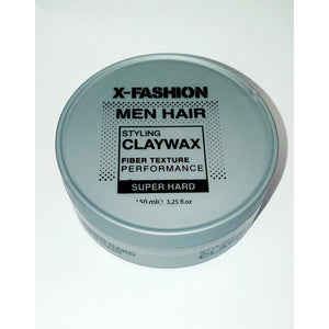 X-Fashion Styling Claywax Fibre Texture Performance Super Hard 150ml - WAHairSuppliers