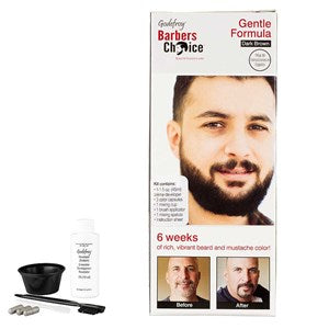 Godefroy Beard and Moustache Colour Dark Brown - WAHairSuppliers